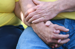 The power of touch is important for all everyone. The compassionate personal touch is vital for both the young and the elderly.