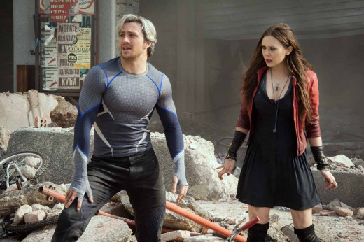 Scarlet Witch and Quicksilver add to the ever-growing cast of Avengers