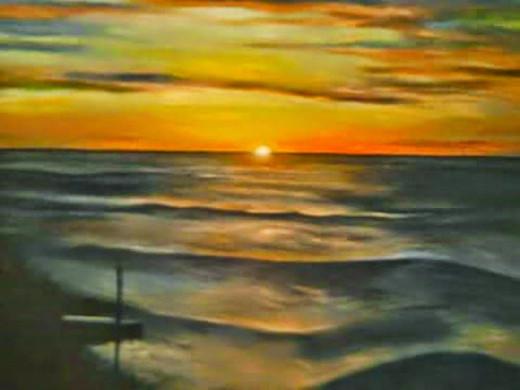 Painting by: Frank Samora. Geneva On The Lake, 2009