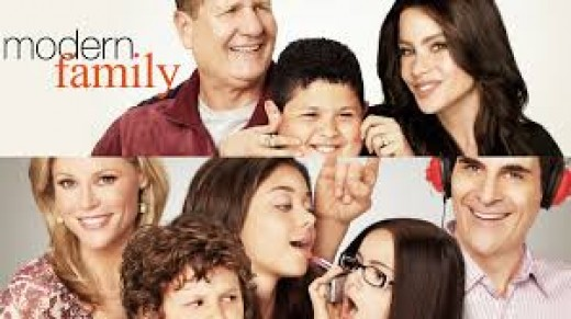 A modern family is not necessarily like this one but there is an example.