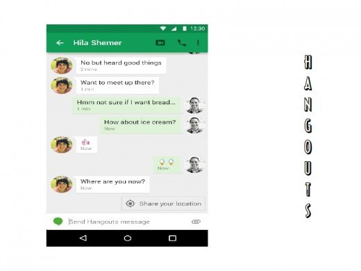 Google is trying hard to make Hangouts popular.