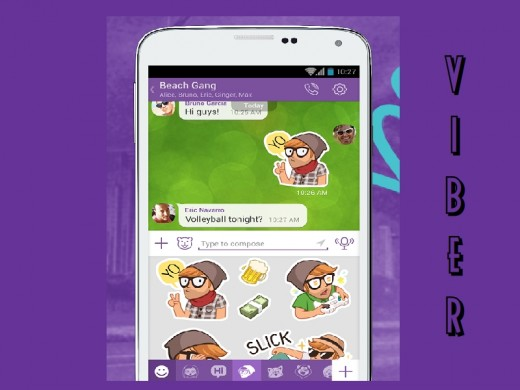 Viber is a popular Whatsapp alternative