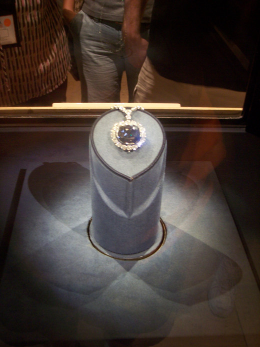 The Hope Diamond has been on display at the National Museum of Natural History since 1958.