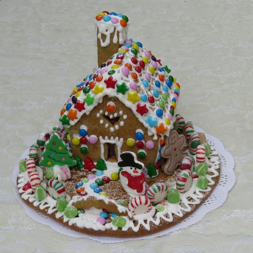 Living with you, my sweet, is a lovely and yummy as living in a gingerbread house. Merry Christmas!
