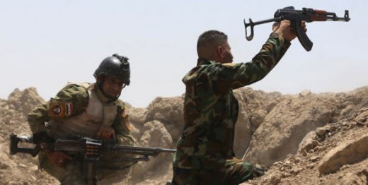 Iraq's Golden Division at Ramadi