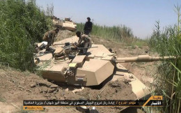Lost M1 tank to ISIS