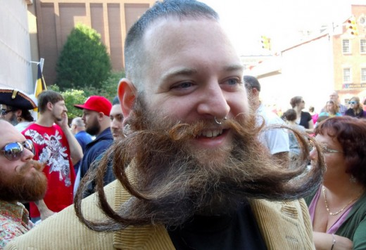 ...But here it is again, worn by a contestant at the National Beard & Mustache Championships.