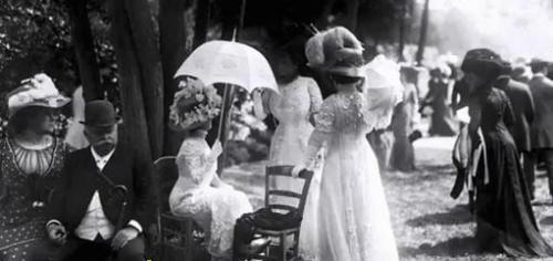 Upper Class Women of the Early 1900s