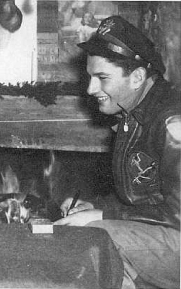 Heller in 1945. As a member of the U.S. Army Air Corps he flew 60 combat missions over the Italian front as a B-25 bombardier.