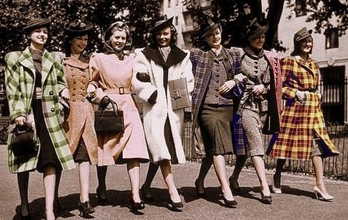Upper Class Women of the 1940s