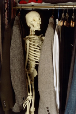 Skeletons In The Closet: Who Will Find Yours After Your Death?