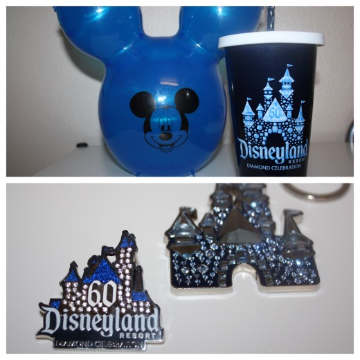 Here is a look at the merchandise that I bought that is Diamond Celebration themed.