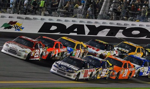 Daytona is the first race of the SprintCup/NASCAR seaon and it is always wild.
