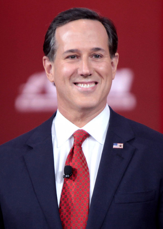 Former U.S. Senator Rick Santorum (R-PA) is running for president again in 2016 after coming in second during the 2012 Republican primaries.