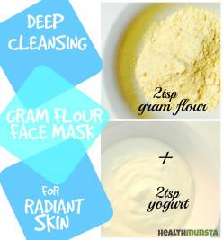 Top 3 Gram Flour Face Mask Recipes for Beautiful Skin