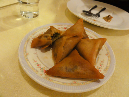 Chicken Mincemeat Samosas