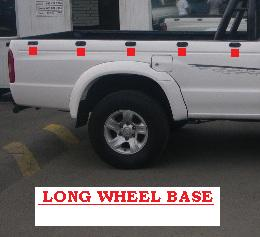 This is a Long Wheel Base Bin as shown in the picture. 5 or more show LWB.