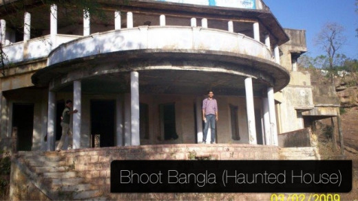 The Haunted Villa at Bhopal.. Real Picture...