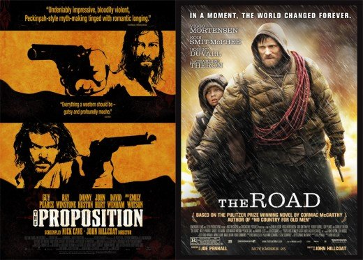 This film's two foremost inspirations, in this reviewer's mind, the offspring of two of John Hillcoat's films.