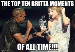 Lists 101: Top Ten Britta Moments of ALL TIME!