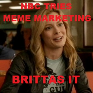 This meme was brought to you by the unprovoked shots at NBC foundation