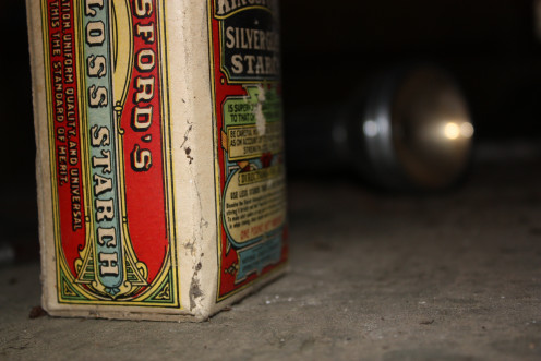 Kingsford's Silver Gloss Starch.
