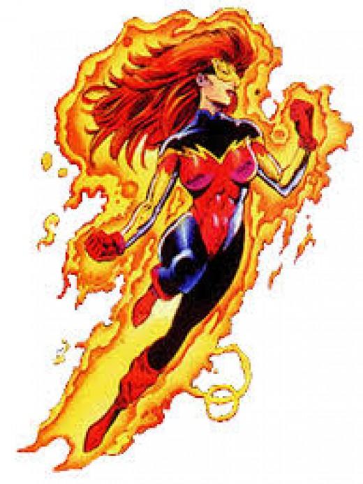 Firestar of the New Warriors, Avengers, and X-men