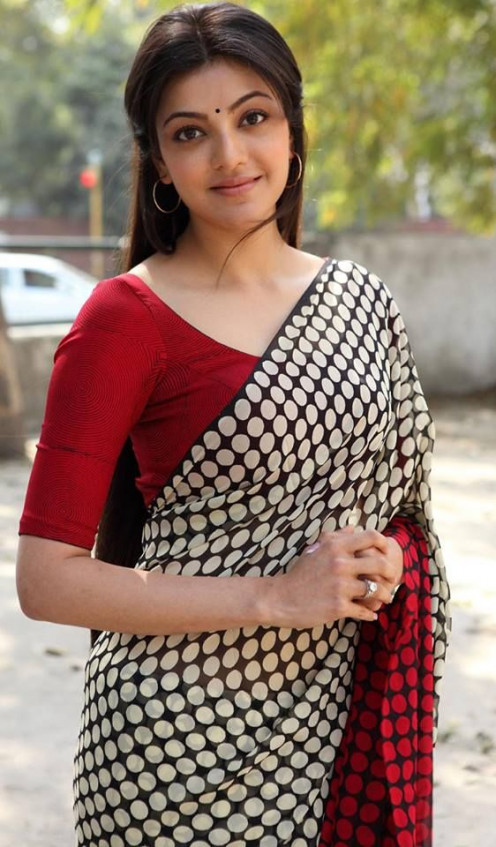 Kajal Aggarwal in saree