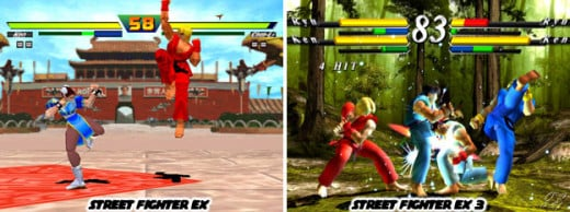 Yeah, there was a fully 3D Street Fighter series. Don't remember it? Well lets just say that there is a reason why Street Fighter IV went back to 2D.