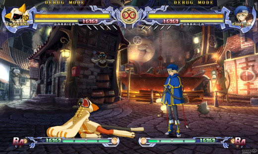 People who claim that 2D fighting games are all button mashers clearly never played BlazBlue.