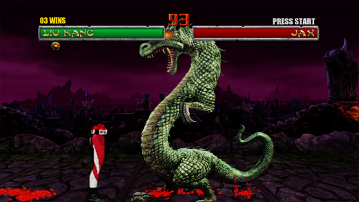 If you know how to do this in Mortal Kombat 2, then you are awesome.