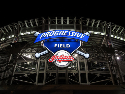 Progressive Field is a Major League Baseball venue in downtown Cleveland. Home to the Cleveland Indians, it joins Quicken Loans Arena as the Gateway Sports and Entertainment Complex.