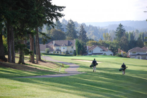 Auburn Municipal Golf Course. It's still owned by the City and a very challenging course (greens on a slope and tee off a hillside). Because it sits on a plateau above the Green River, there will eventually be pressure for further development.