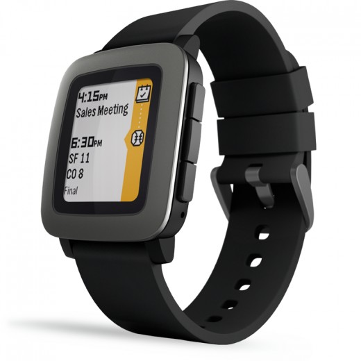 Presenting to you, Pebble Time.