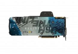 Zotac GTX 980Ti Arctic Storm's got a sweet looking backplate
