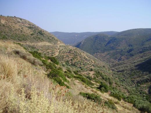Erosion slope