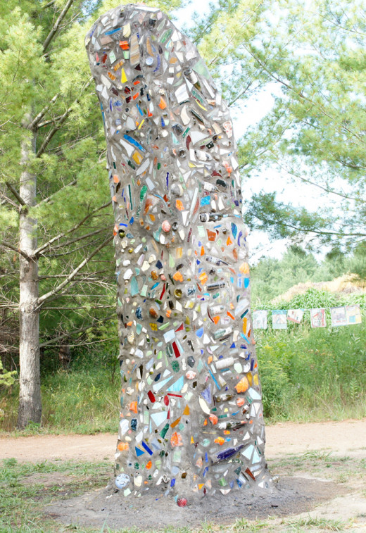 8000lbs of public art animal habitat