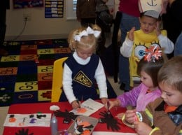 It takes time and effort to plan small group activities. Many preschool teachers aren't paid for that preparation.