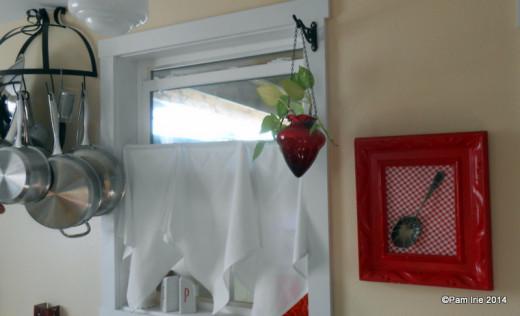 Kitchen Window Treatment