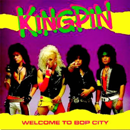"Kingpin's ""Welcome to Bop City"" ...WARNING, staring directly at this photo for too long may result in severe eye damage."