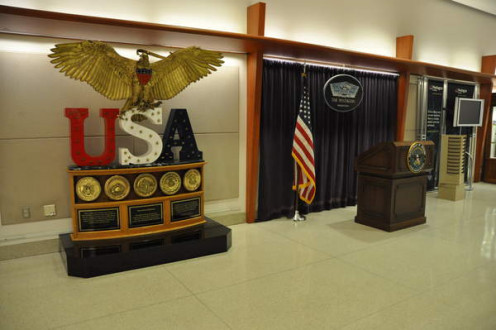 A glimpse inside The Pentagon.