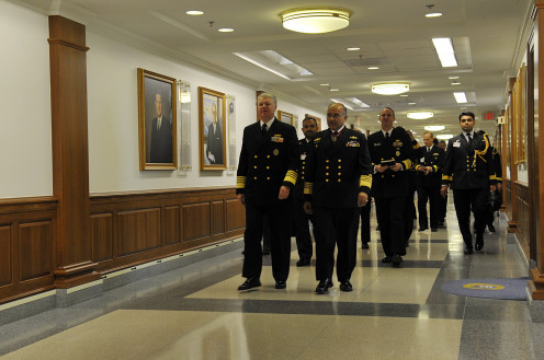 Among these important men are Adm. Gary Roughead, Chief of Naval Operations.