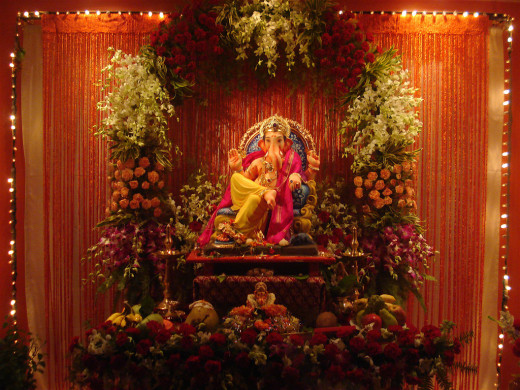 Lord Ganesha gets rid of all hurdles and problems that prevent us from progressing