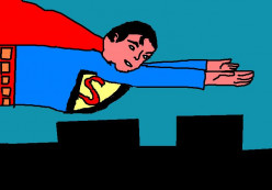 Superman, the first official superhero, was created in the late 1930s.