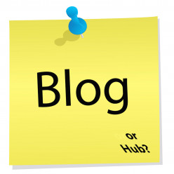 As a writer, how do you feel when people refer to your hub as a blog?