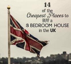 Cheapest Places in the UK to Buy 3 Bedroom Houses (2017)