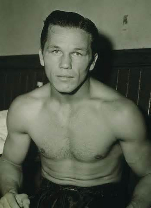 Tony Zale is a two time middleweight world champion.