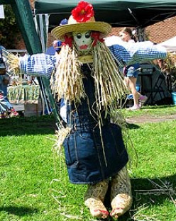 This is one nice-looking scarecrow.