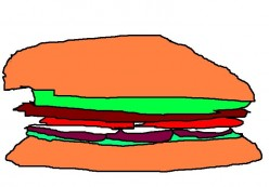 The humble hamburger in Australia and elsewhere in the world has shrunk since the 1980s.