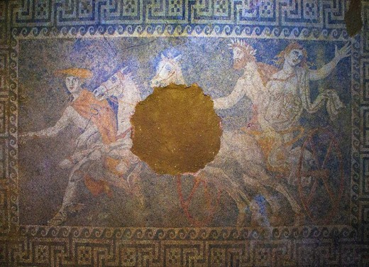 The Abduction of Persephone by Pluto, Amphipolis, Greece - discovered by  Katerina Peristeri